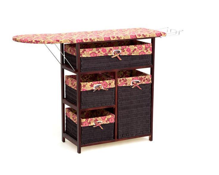 Burro de planchar zf 2597 de madera casa pinterest for Catalogo de muebles de madera para el hogar pdf