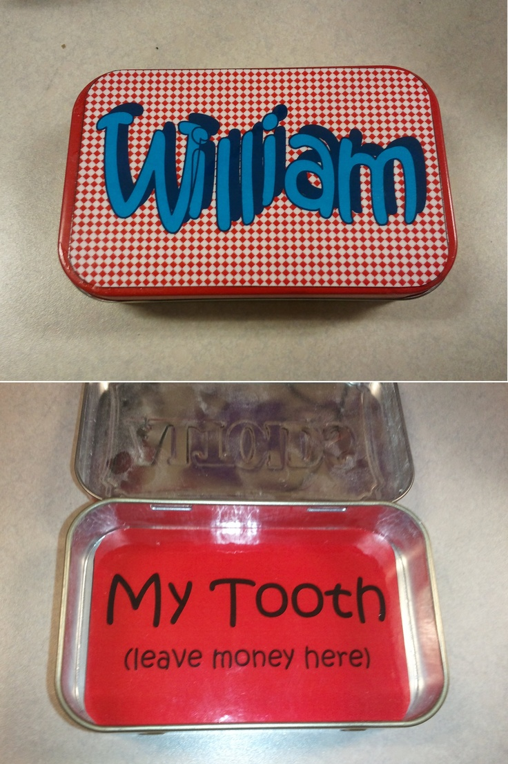 Tooth fairy box craft - Will S Tooth Fairy Box More