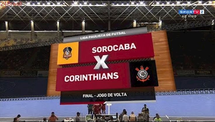 Jogo Completo   Sorocaba Magnus x Corinthians   Final (Volta)   Liga Paulista de Futsal   22/10/2017
