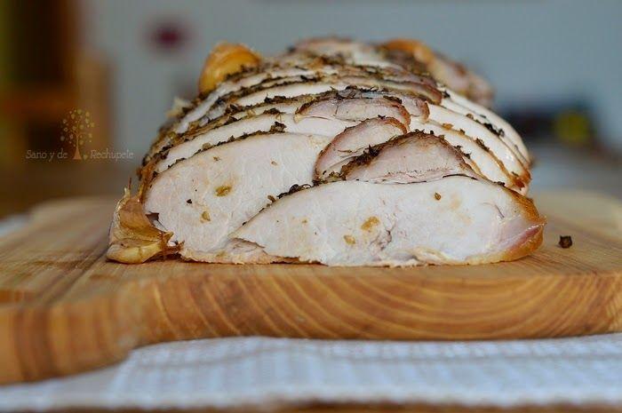 ¡Sano y de rechupete!: Pata de cerdo asada (receta canaria, adaptada a la cocina en casa)