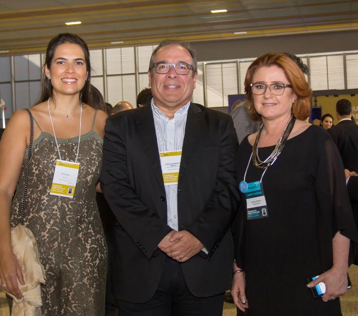 Ana Dourado, José Guilherme de Araújo e Janete Ribeiro