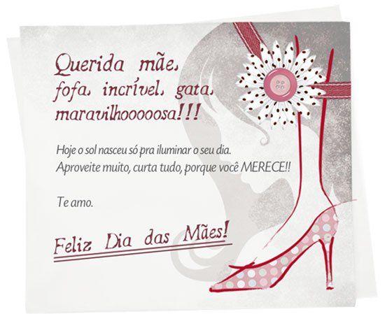 Mensagens Para O Dia Das Mães: +1000 Imagens Sobre Mensagem Dia Das Maes No Pinterest