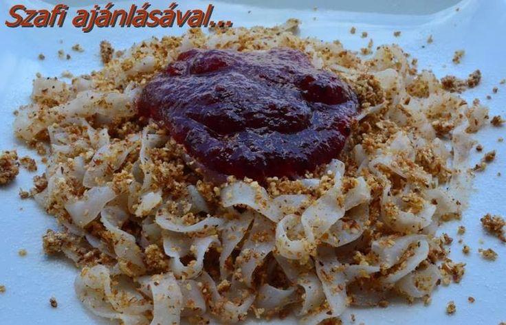 Éhezésmentes Karcsúság Szafival: Hamis diétás grízes tészta
