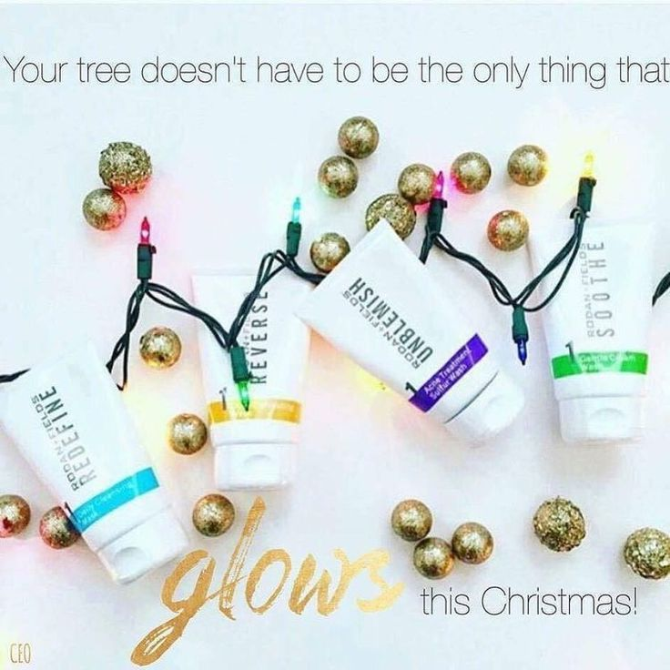 Don't let your Christmas Tree out glow your skin this holiday season! Don't delay gifting your skin Rodan and Fields this Holiday Season! Message me today and see what specials you can take advantage of!!