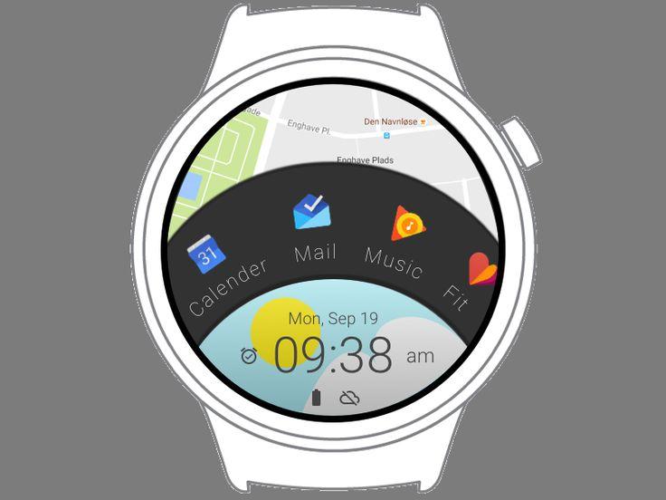 Android Wear Watch face by Jesper Vestergaard