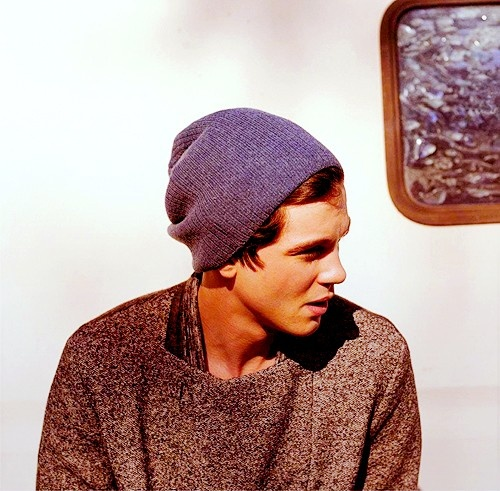 boys in beanies and sweaters. yes.