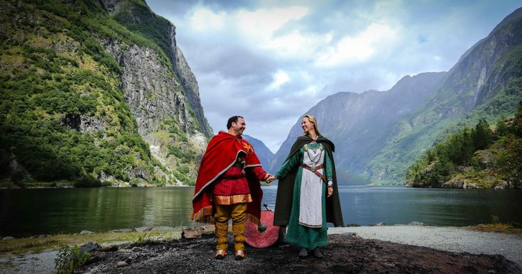 I Photographed A Real Life Norwegian Viking Wedding | Bored Panda