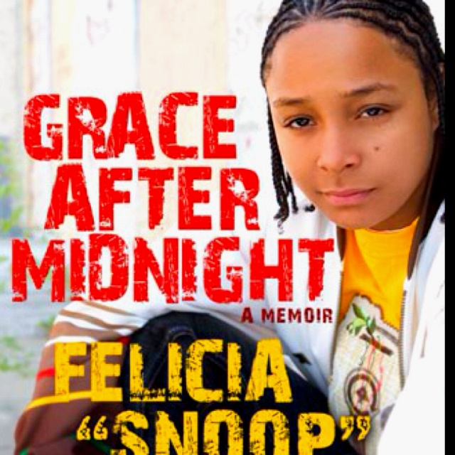 """THIS WAS AN EXCELLENT BOOK!!!! FELICIA PEARSON (@BmoreSnoop) is an American actress, author, and rapper. She is best known for playing a character of the same name, Felicia """"Snoop"""" Pearson, on The Wire. She wrote a memoir titled Grace After Midnight."""