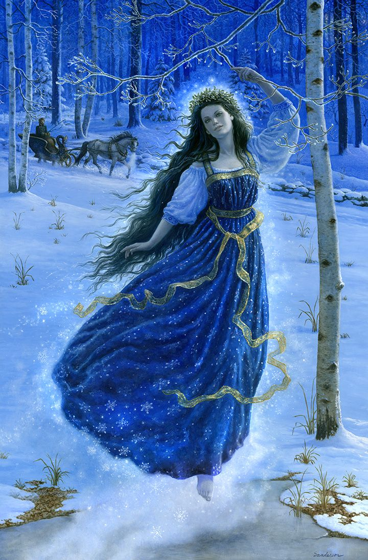 Picture of a Rusalka.