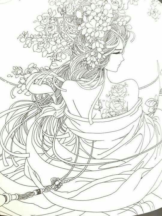 Pin de Nataly en Dibujo   Pinterest   Libros para colorear, Mandalas ...