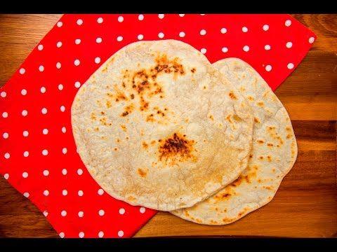 (6) Domácí tortilly ze sádla a mouky - YouTube