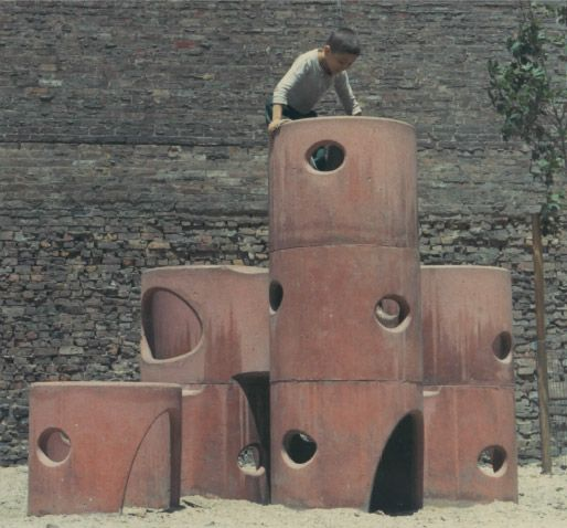 Jim Miller-Melberg imagined and created some of the most stimulating sculptural playground ever seen.