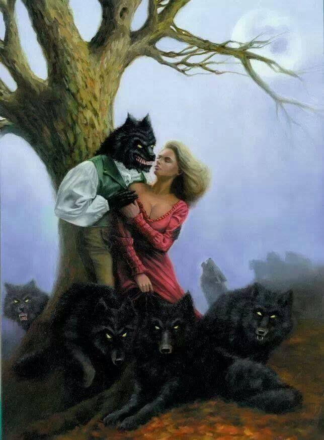 Werewolf and Human Love! | Werewolves | Pinterest | Werewolves