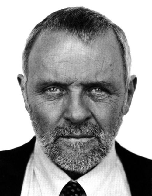 Anthony Hopkins - photograph by Nigel Parry