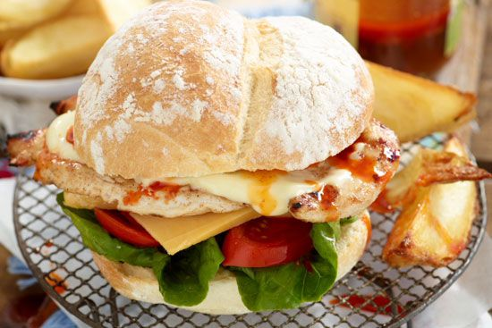 Jan Braai Chicken Burger