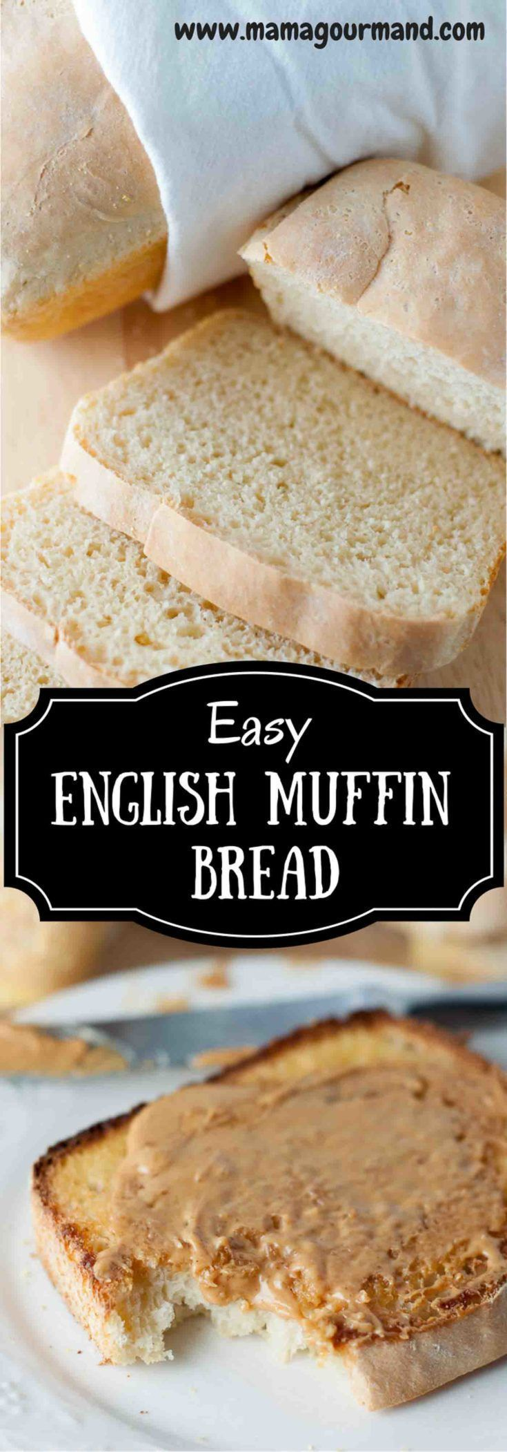 1000+ ideas about English Muffin Bread on Pinterest ...