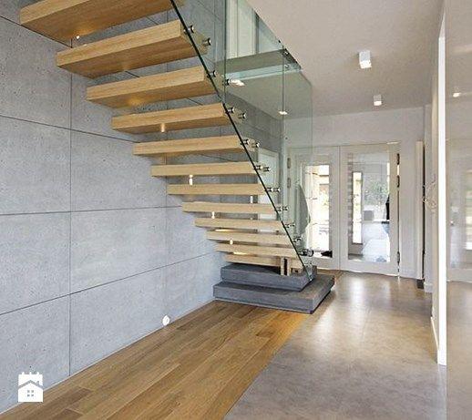 Schody styl Skandynawski - zdjęcie od DOMY Z WIZJĄ - nowoczesne projekty domów