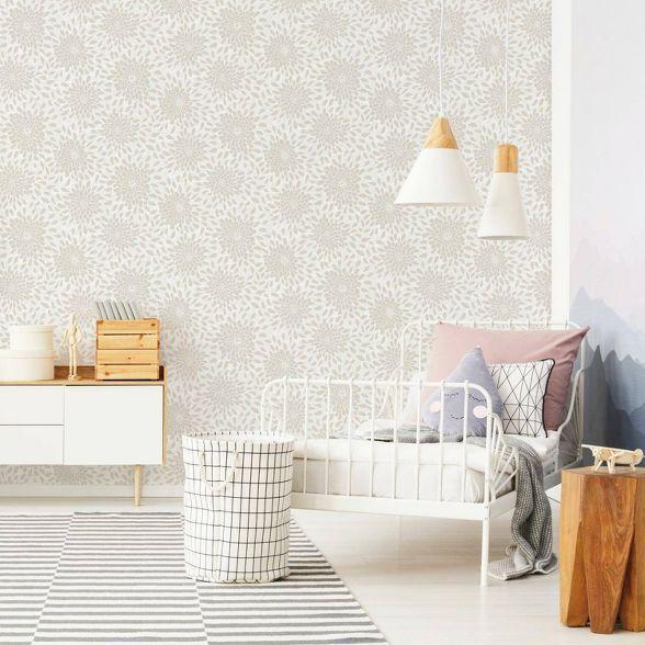 Roommates Toss The Bouquet Peel Stick Wallpaper In 2020 Bedroom Wallpaper Trends Roommate Decor Wallpaper Bedroom