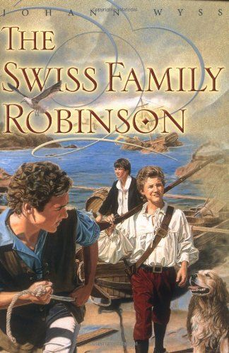 The Swiss Family Robinson- This fascinating tale of a resourceful family shipwrecked on a deserted tropical island make up one of the most exciting survival stories ever written.