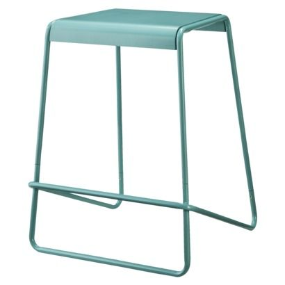 TOO by Blu Dot Plop Counter Stool - Blue