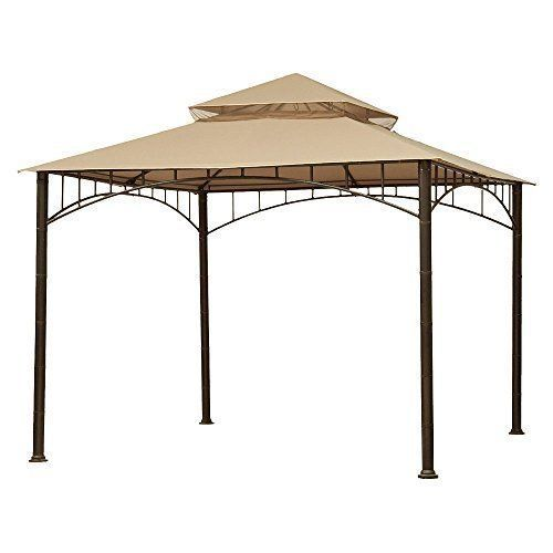 Gazebo Replacement Canopy Patio Outdoor Garden Cover Yard Sunshade Madaga #Unbranded