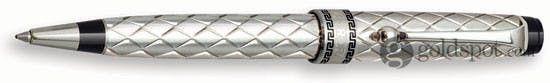 Aurora Riflessi Sterling Silver Ballpoint Pen