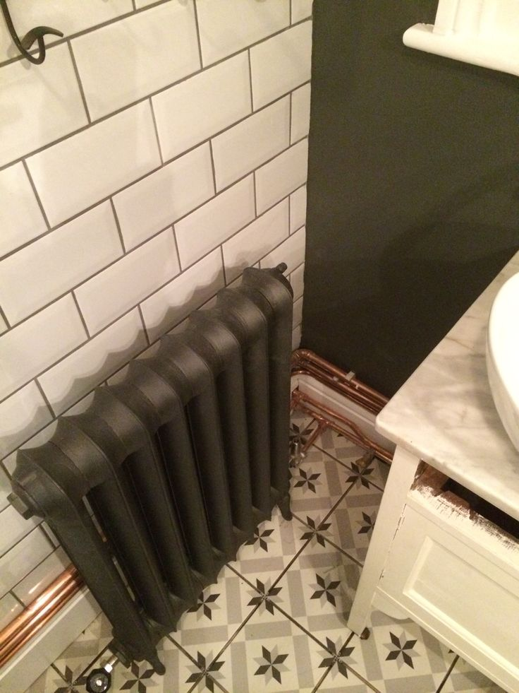 Edwardian radiator installed in Nunhead