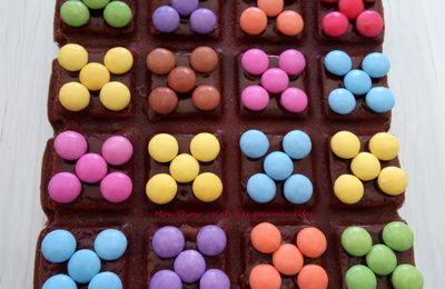 Gâteau Chocolat Mascarpone (Cyril Lignac) .... et Smarties