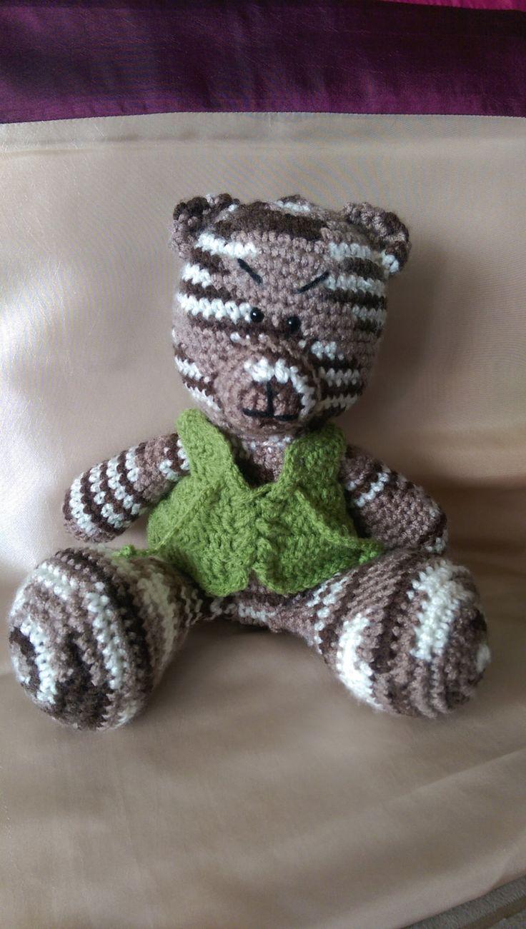 teddy ber, stuffed animals, stuffed toy, gand made, crochet, eco friendly, gift…