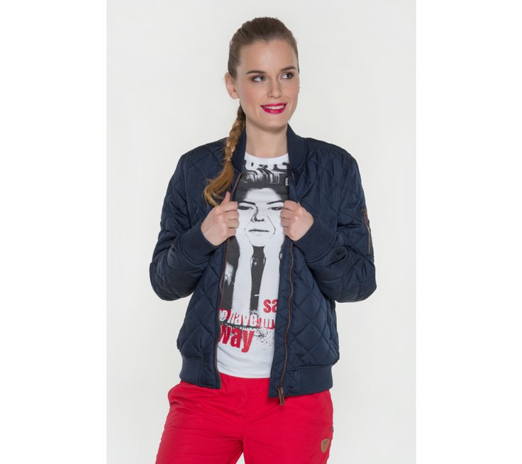 Dámska bunda s prešívaným vzorom Sam 73 | modino.sk #modino_sk #modino_style #style #fashion #lookbook