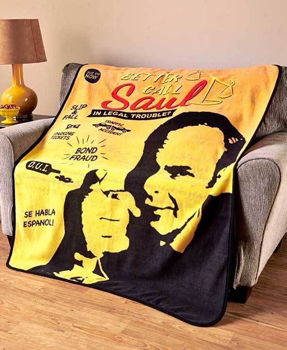 In Legal Trouble, then you BETTER CALL SAUL Throw Blanket - Officially Licensed