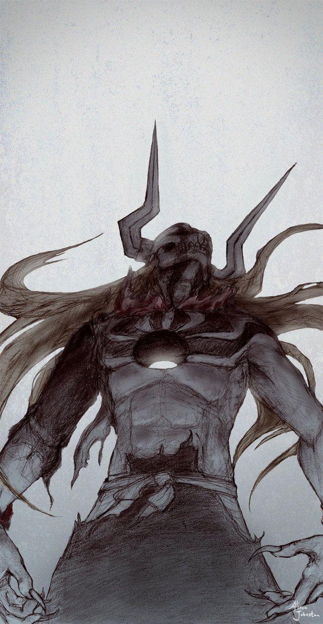 Hollowfied Ichigo by Xovq