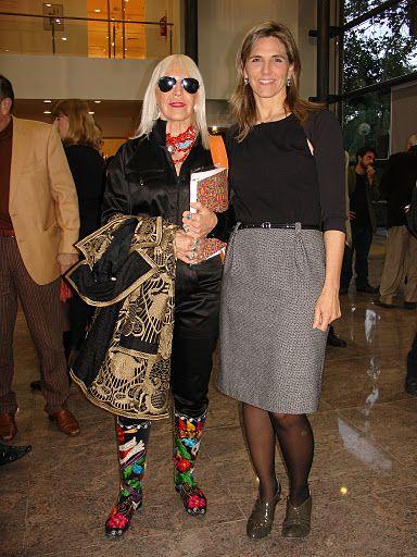 Marta Minujin y Virginia Agote. Foto: Mirabaires