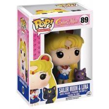 Sailor Moon & Luna - vinylfigur 89