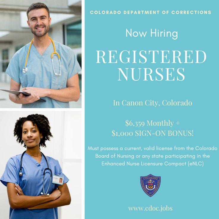 Apply online today at cdoc.jobs/! Nurse nurselife