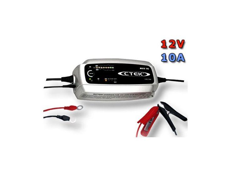 Nabíječka CTEK MXS 10, 12V, 10A Autobaterie - Autodoplňky - Autosklo