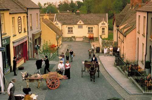 Bunratty Castle & Folk Park, County Clare, Ireland