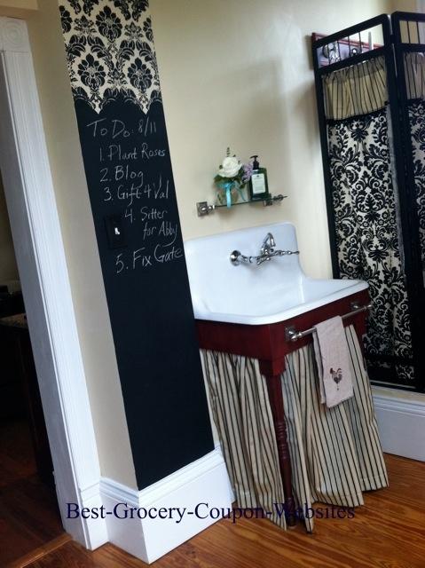 Great Idea for the bathroom