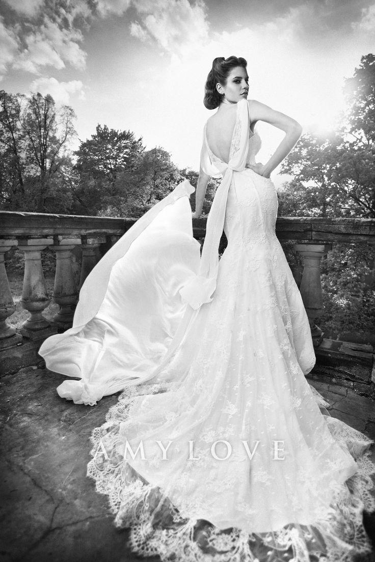 Lace Wedding Dress Amy Love Bridal 2104 - Forge