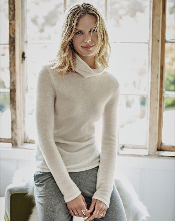 Gassato Cashmere Polo Neck Sweater