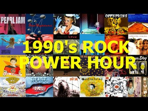 1990s Rock Power Hour Drinking Game