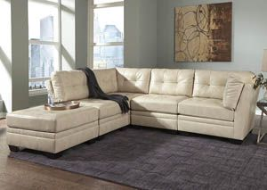Khalil DuraBlend® Taupe Modular Sectional,Signature Design by Ashley