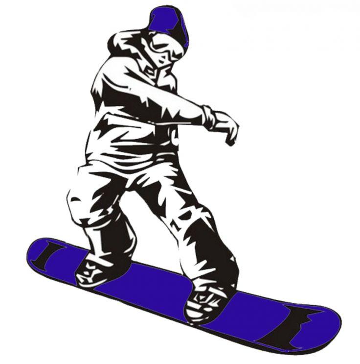 Картинка сноуборд рисунок