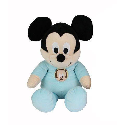 Peluche Mickey 50 cm Disney Baby Mickey  - marque : Disney Magnifique peluche Mickey 50 cm toute douce !... prix : 19.99 EUR €  chez Auchan Jeux et Jouets #Disney #AuchanJeuxetJouets