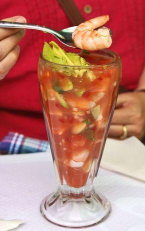 Coctel de Camarones (Mexican Shrimp Cocktail