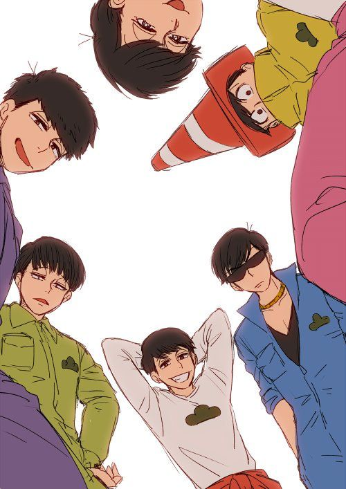 When you fall into the Osomatsu-san universe and wake m up to the Matsuno bros im dying