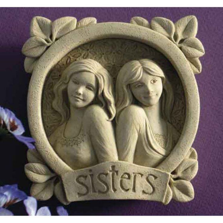 Sisters Wall Plaque - 1109