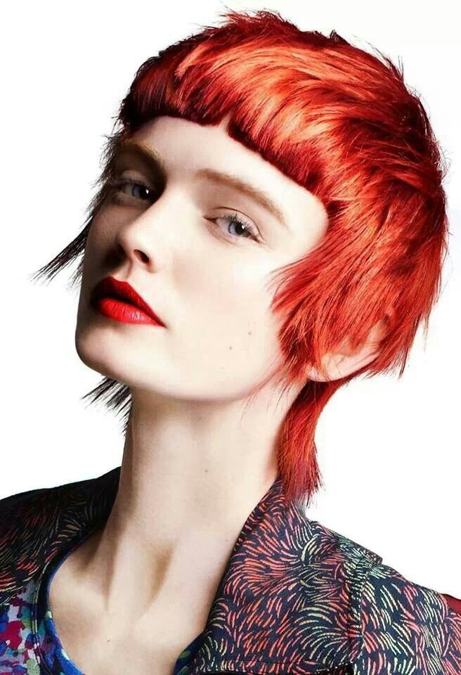 A Modern Mullet Out Of Th 5050 Collection Toni And Guy Dope Hair