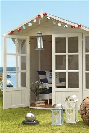 Eaton Summer House...a little optimistic but it will come!
