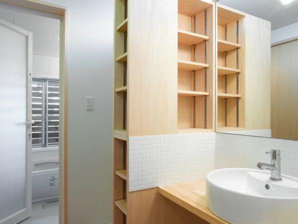 【家造り】洗面室・脱衣室に取り入れたいこだわりの工夫・アイデアの画像 | ギャザリー